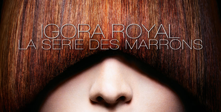 IGORA ROYAL Les Univers Couleur LA SERIE DES MARRONS