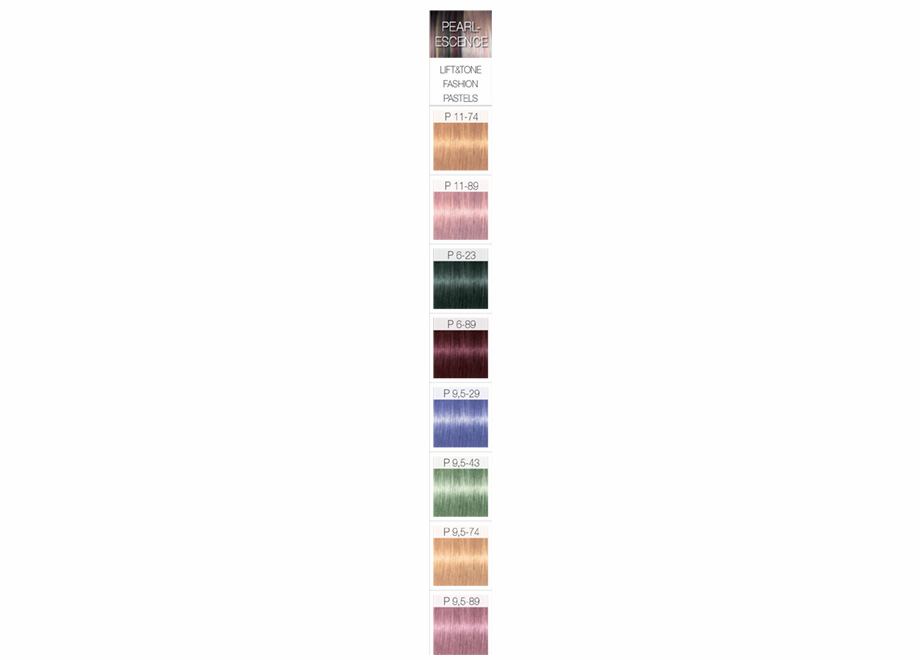 igora royal pearlescence assortiment - Nuancier Schwarzkopf Coloration