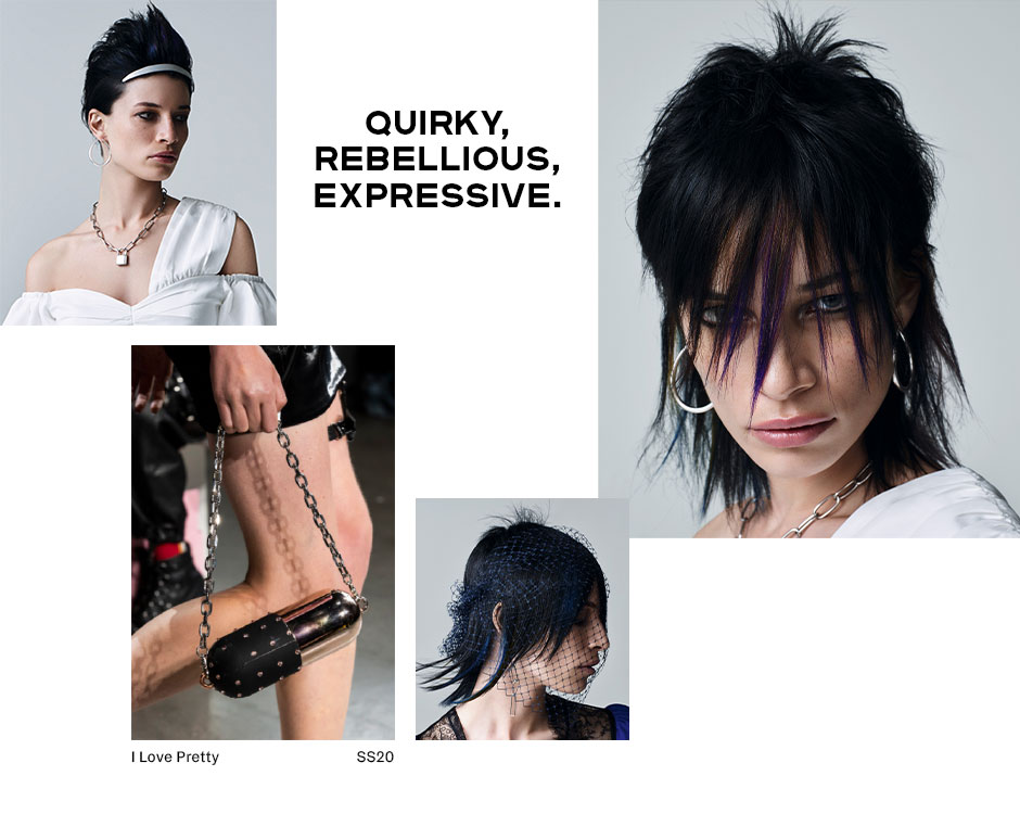Punk Spirit Runway Look