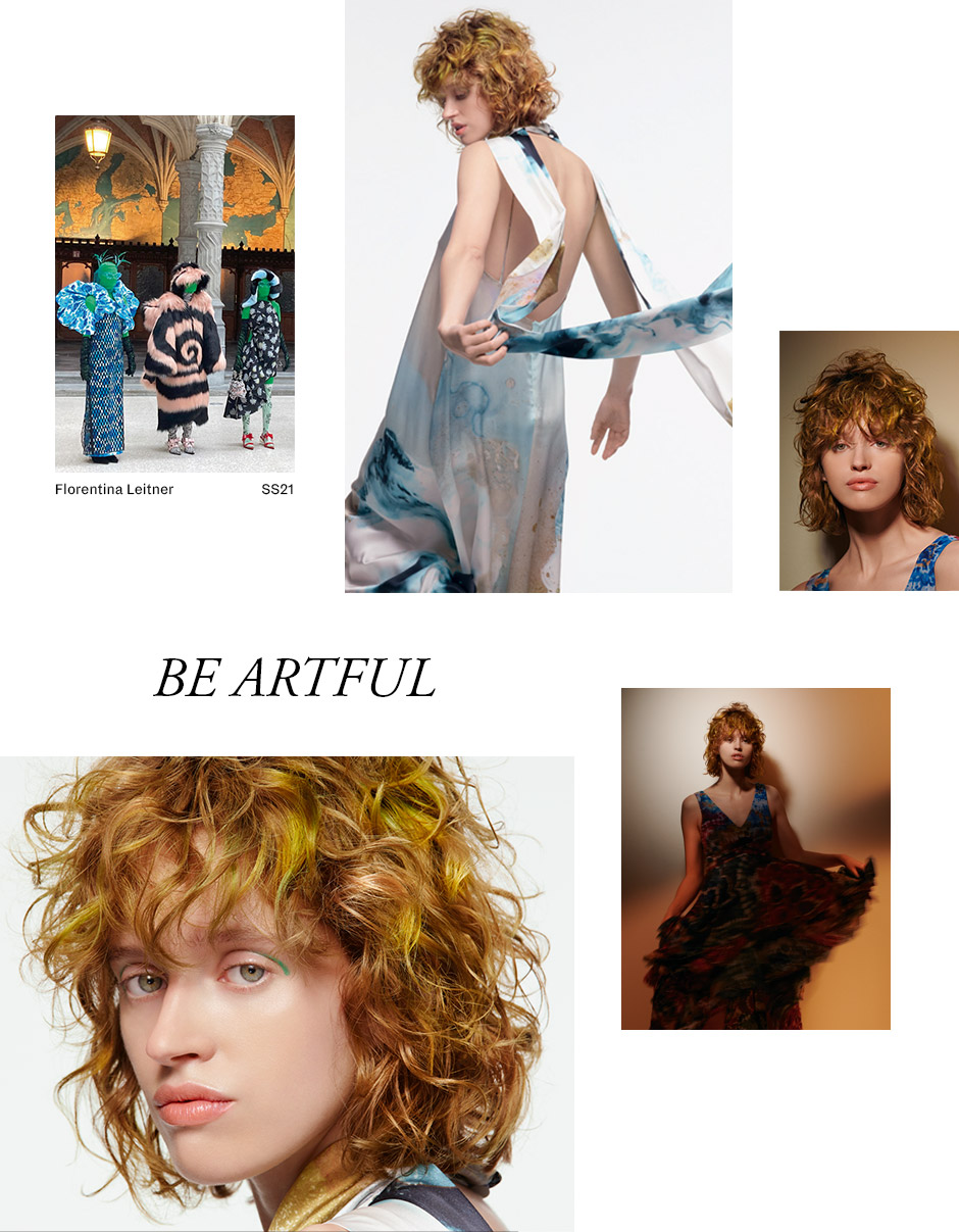 Artful Feeling Salon Look
