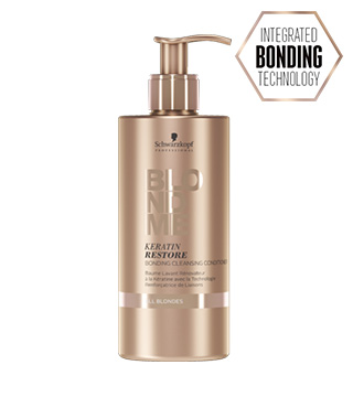 BLONDME® Keratin Restore Bonding Cleansing Conditioner