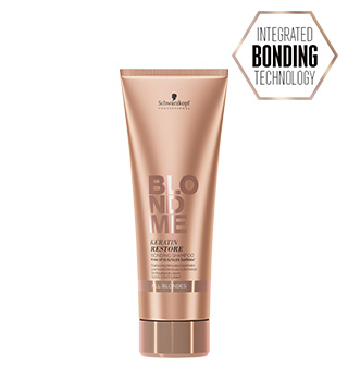 BLONDME® Keratin Restore Bonding Shampoo